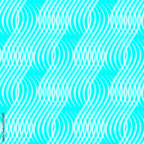 seamless with  turquoise background