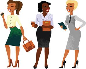 Businesswomen set