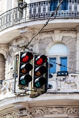 Street light in Vienna, Austria.