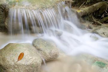 Small waterfall in Erawan