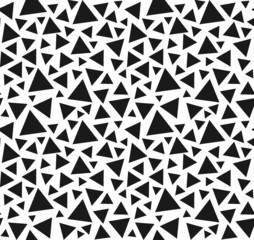 Seamless triangle pattern. Vector background.