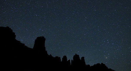 Night sky, Moab, Utah, USA