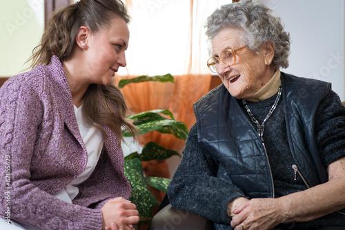 Fototapeta Old woman