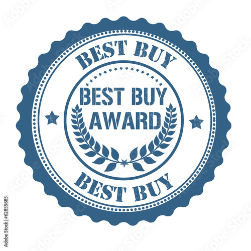 Best buy award stamp