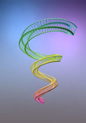 Gitter-Spirale