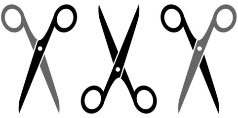 set three scissors
