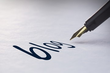 Fountain pen writing Blog