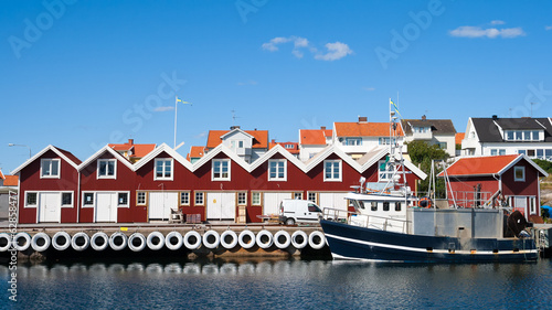 Swedish fishing town