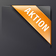 Orange Banderole AKTION