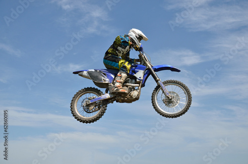 X games motocross rider on motorbike efficient flight