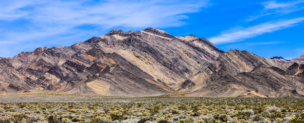 Colorful Mountains in Death Valley
