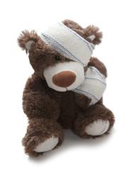 ours blessé