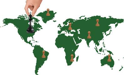 scacchiera mondiale