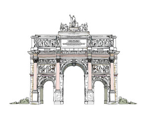 Paris, sketch collection: Triumph  Arch