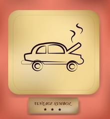 Car,drawing,sign