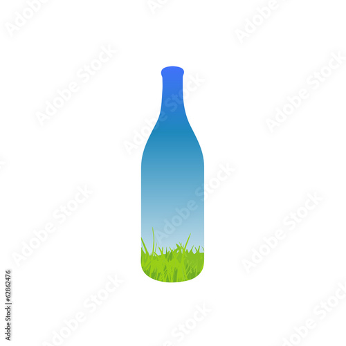 Landscape in a bottle