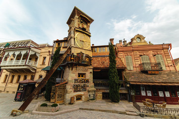 Tower Of Rezo Gabriadze Marionette Theater