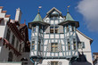 canvas print picture - Turmhaus St. Gallen
