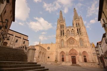 Panoramica de la Plaza y Catedral de Burgos, Camino de Santiago