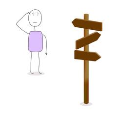 Choisir une direction
