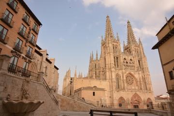 Catedral de Burgos y alrededores (Camino de Santiago, Burgos)