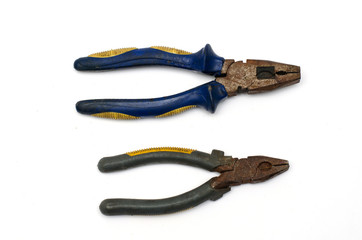 Old Double pliers big and small