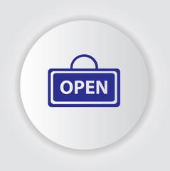 Open symbol,vector