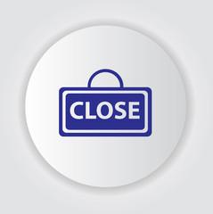 Close symbol,vector