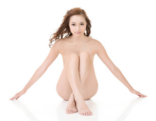 Sexy nude Asian woman
