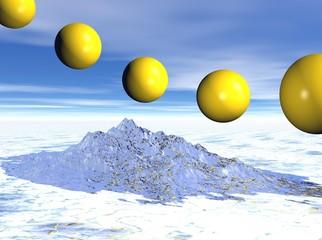 Flying Spheres