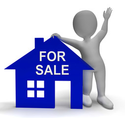 For Sale House Shows Property On Market