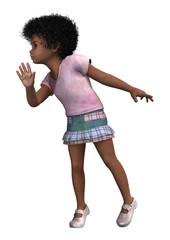 Cute African Child