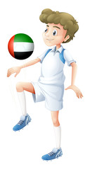 A soccer player from the UAE