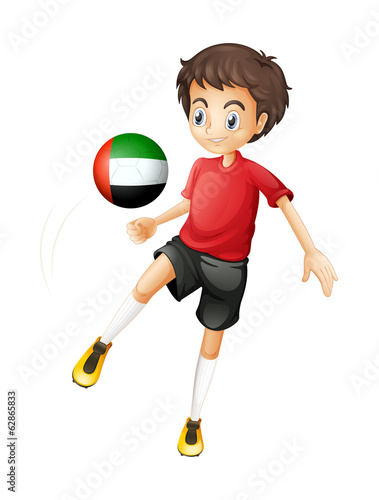 A player from the United Arab Emirates