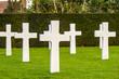 Flanders field American cemetery in Waregem Belgium