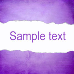 Abstract purple background with blank space for text