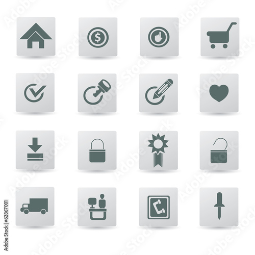 Website,internet,icon set,vector