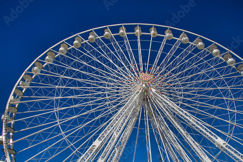 canvas print picture Riesenrad in Marseille