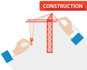 Construction concept,vector