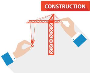 Construction concept,vector