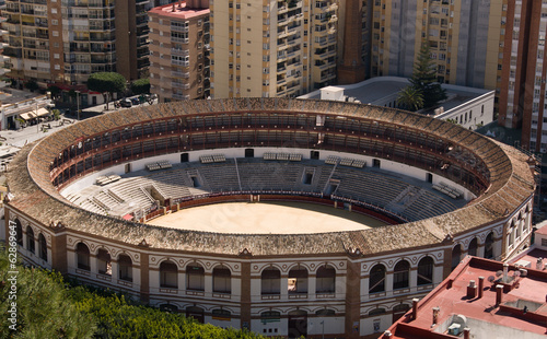 The arena for corrida in Marabella, Spain
