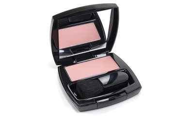 cosmetic compact blush