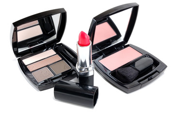set of cosmetics for women