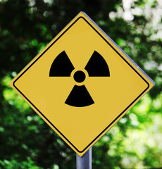 radioactive pictogram