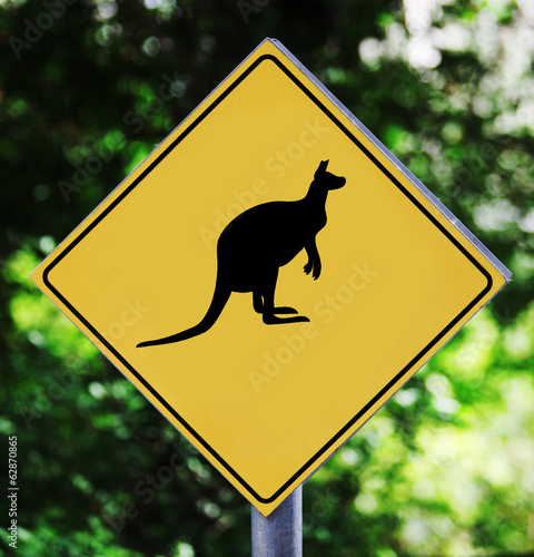 Kangaroo pictogram