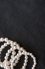 Old fashioned white pearl bracelet