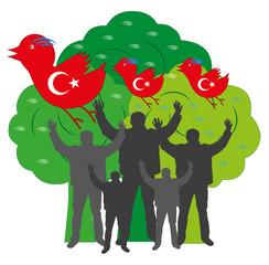 Internetprotest Türkei