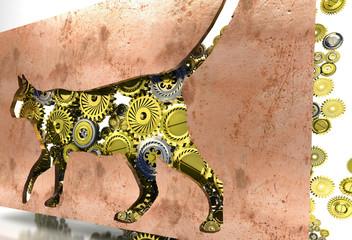 Gatto, veterinario, nutrizione, Meccanismi, ingranaggi