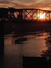 Broadway Bridge at Sunrise, Oregon
