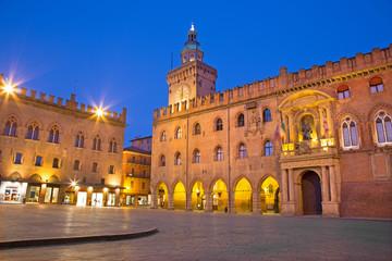 Bologna - Palazzo Comunale and Piazza Maggiore square